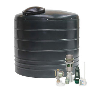 VERTICAL ROUND BUNDED OIL TANK