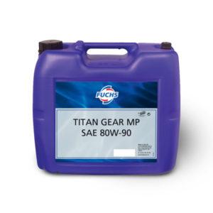 TITAN GEAR MP SAE 80W-90 hypoid gear oil Mercedes-Benz